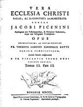 Vera Ecclesia Christi signis... contra Jacobi Picenini...