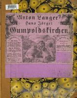 Hansj  rgel von Gumpoldskirchen PDF