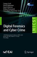 Digital Forensics and Cyber Crime PDF