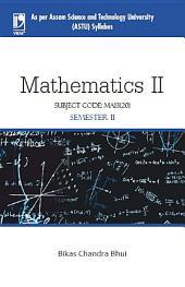 Mathematics II (ASTU, Assam)