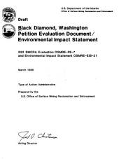 Black Diamond, Washington petition evaluation document/ environmental impact statement: draft
