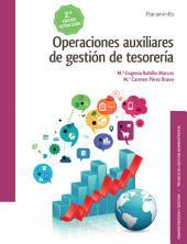 Operaciones auxiliares de gestión de tesorería 2.ª edición 2017