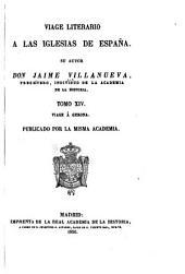 Viage literario á las iglesias de España: Volúmenes 14-16