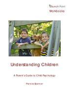 Understanding Children  A Parent s Guide to Child Psychology PDF