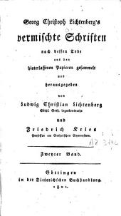 Vermischte Schriften: Band 2