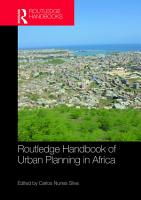 Routledge Handbook of Urban Planning in Africa PDF