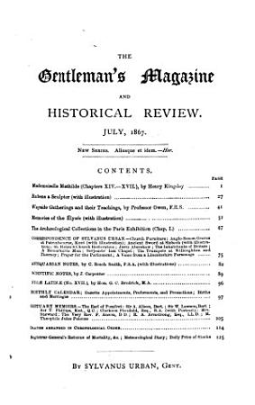 The Gentleman s Magazine and Historical Review PDF