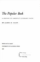 Popular Book A History of Americ s Literary Taste PDF