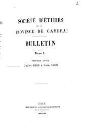 Bulletin: Volumes1à3