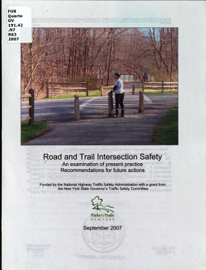 Road and Trail Intersection Safety