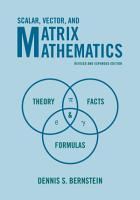 Scalar  Vector  and Matrix Mathematics PDF