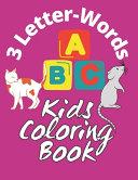 3 Letter Words Kids Coloring Book PDF