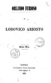 Orlando furioso di Lodovico Ariosto