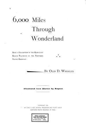 6000 Miles Through Wonderland PDF