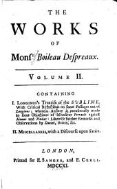 The works of Monsieur Boileau: Volume 2