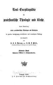 Real-encyklopädie für protestantische theologie und kirche: Band 7