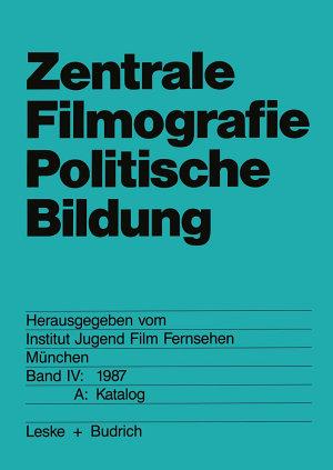 Zentrale Filmografie Politische Bildung PDF