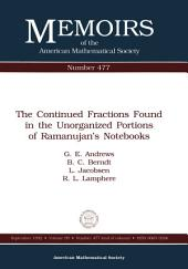 The Continued Fractions Found in the Unorganized Portions of Ramanujan's Notebooks: Issue 477