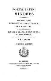 Poetae Latini minores ex recensione Wernsdorfiana: quae notis veteribus ac novis illustravit, Volume 138