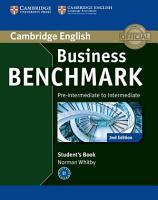 Business Benchmark Pre intermediate to Intermediate BULATS Student s Book PDF