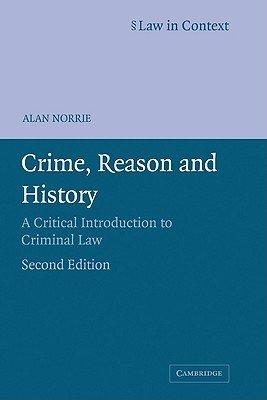 Crime  Reason and History PDF