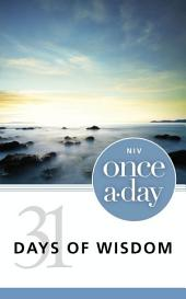 NIV, Once-A-Day: 31 Days of Wisdom, eBook