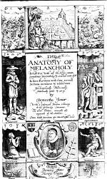 The Anatomy of Melancholy ... The Sixth Edition, Corrected and Augmented by the Author. [By R. Burton.]