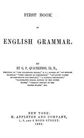 First Book in English Grammar