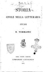 Storia civile nella letteraria studii di N. Tommaseo