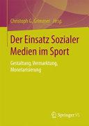 Der Einsatz Sozialer Medien im Sport PDF