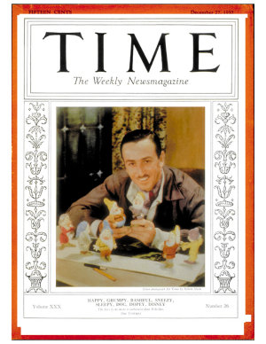 TIME Magazine Biography--Walt Disney