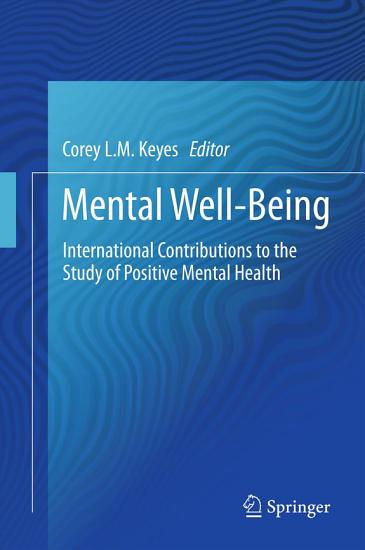 Mental Well Being PDF