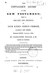 The cottager's guide to the New Testament