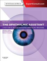 The Ophthalmic Assistant PDF