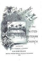 Children s Missionary Magazine of the United Presbyterian Church PDF