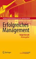 Erfolgreiches Management PDF