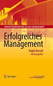 Erfolgreiches Management
