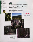 Rogue River-Siskiyou National Forest (N.F.), Eden Ridge Timber Sales, Coos County