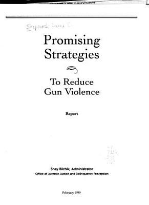 Promising Strategies to Reduce Gun Violence