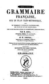 Nouvelle grammaire française ...