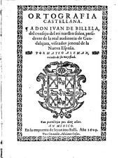 Ortografia Castellana