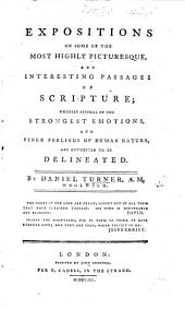 Expositions on some of the most highly picturesque and interesting passages of Scripture, etc