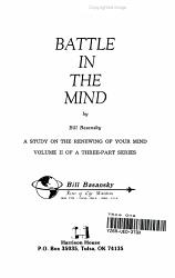 Battle In The Mind Book PDF