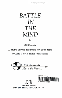 Battle in the Mind Book