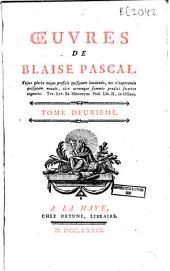 Oeuvres de Blaise Pascal: Volume2