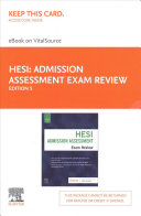 Admission Assessment Exam Review Elsevier eBook on VitalSource (Retail Access Card)