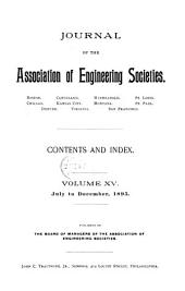 Journal of the Association of Engineering Societies: Volume 15
