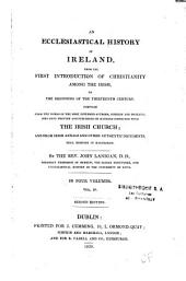 An ecclesiastical history of Ireland