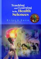 Teaching and Learning in the Health Sciences PDF