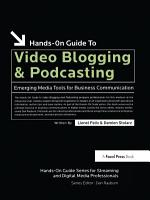 Hands On Guide to Video Blogging and Podcasting PDF